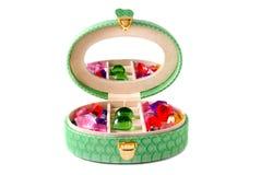 O caixão verde Imagem de Stock Royalty Free