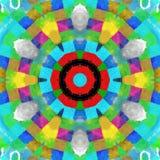 O caleidoscópio pode você vê-lo? ilustração do vetor