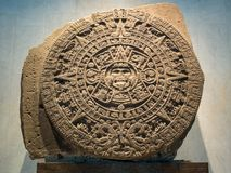 O calendário maia, Inca, asteca, fim da profecia do mundo Fotos de Stock Royalty Free