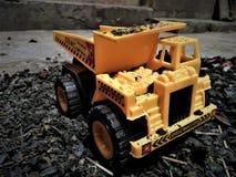 O caminhão do brinquedo Fotos de Stock Royalty Free
