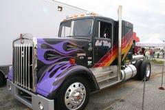 O caminhão o mais rápido do mundo Foto de Stock Royalty Free