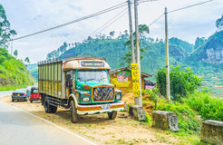 O caminhão velho Fotografia de Stock