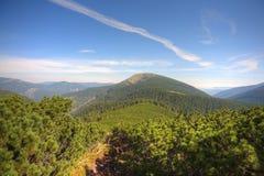 O caminho da montanha Foto de Stock Royalty Free