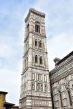 O Campanile de Giotto em Florença Fotos de Stock