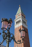 O Campanile de St Mark, Veneza, Vêneto, Itlay Foto de Stock Royalty Free
