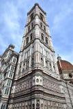 O Campanileand St Mary de Giotto da flor em Florença Fotografia de Stock Royalty Free