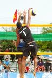 27o campeonato asiático do sudeste do voleibol de praia. Foto de Stock