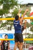 27o Campeonato asiático do sudeste do voleibol de praia. Imagens de Stock Royalty Free