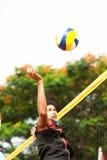 27o Campeonato asiático do sudeste do voleibol de praia. Imagem de Stock Royalty Free
