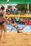 27o campeonato asiático do sudeste do voleibol de praia. Imagens de Stock