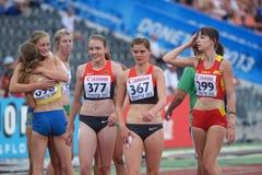 8o Campeonatos da juventude do mundo de IAAF Fotos de Stock Royalty Free
