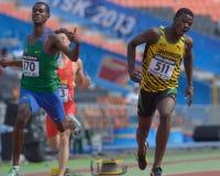 8o Campeonatos da juventude do mundo de IAAF Foto de Stock