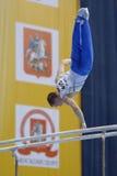 5o Campeonatos europeus na ginástica artística Foto de Stock Royalty Free