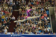 5o Campeonatos europeus na ginástica artística Imagem de Stock Royalty Free