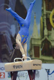 5o Campeonatos europeus na ginástica artística Fotos de Stock