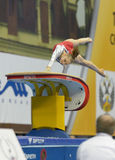 5o Campeonatos europeus na ginástica artística Fotografia de Stock