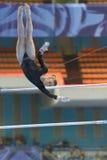 5o Campeonatos europeus na ginástica artística Imagem de Stock