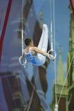 5o Campeonatos europeus na ginástica artística Imagens de Stock