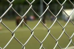 O campo de futebol Imagem de Stock