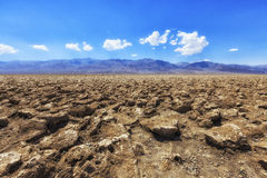 O campo de golfe do diabo, o Vale da Morte, Inyo County, Califórnia Foto de Stock Royalty Free
