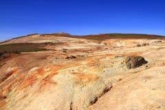 O campo de lava de Leirhnjukur Fotografia de Stock Royalty Free