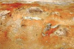 O campo de lava de Leirhnjukur Fotos de Stock Royalty Free