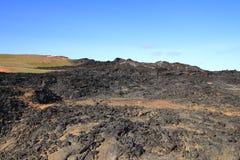 O campo de lava de Leirhnjukur Imagens de Stock Royalty Free