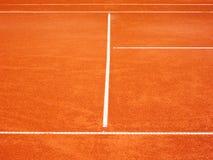 O campo de tênis alinha (90) Foto de Stock Royalty Free