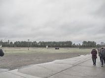 O campo onde os soldados de cada nascer do sol fizeram a contagem principal do th imagem de stock
