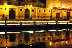 O canal de Malacca Imagem de Stock Royalty Free