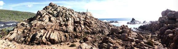 O canal de Yallingup balança a Austrália Ocidental Foto de Stock Royalty Free