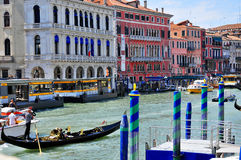 O canal grande Fotos de Stock Royalty Free
