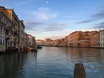 O canal grande de Veneza fotos de stock royalty free