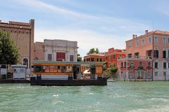 O canal grande em Veneza Itália fotografia de stock royalty free