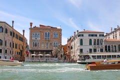 O canal grande em Veneza Itália fotografia de stock