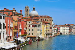 O canal grande em Veneza, Italy Imagem de Stock