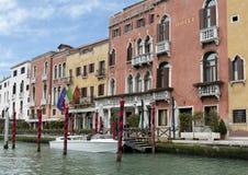 O canal grande em Veneza, Italy Foto de Stock Royalty Free