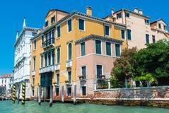 O canal grande, Veneza Imagens de Stock Royalty Free