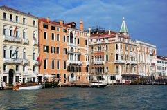 O canal grande, Veneza, Italy Fotos de Stock Royalty Free