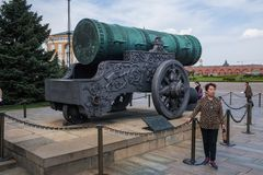 O canhão de Tsar imagem de stock royalty free