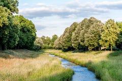 O cano principal vermelho - Bayreuth foto de stock royalty free