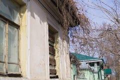 O canto da casa velha Imagem de Stock