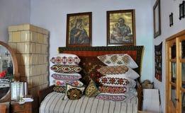 O canto do palácio antigo de Lemko Imagem de Stock