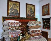 O canto do palácio antigo de Lemko Imagens de Stock Royalty Free