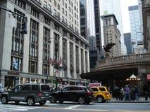 O canto do terminal de Grand Central em New York, Manhattan Foto de Stock