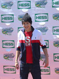 O cantor Austin Mahone atende a Arthur Ashe Kids Day 2013 em Billie Jean King National Tennis Center Fotos de Stock Royalty Free