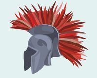 O capacete do cavaleiro foto de stock royalty free
