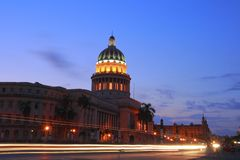 O Capitólio em Havana Fotos de Stock Royalty Free