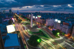 O capital de Buenos Aires em Argentina Imagem de Stock Royalty Free