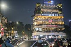 O capitale de hanoi em Vietnam fotografia de stock royalty free